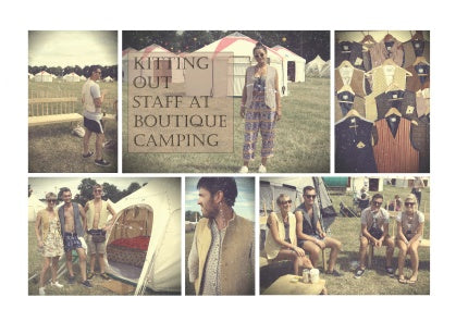 BOUTIQUE CAMPING at Secret Garden Party