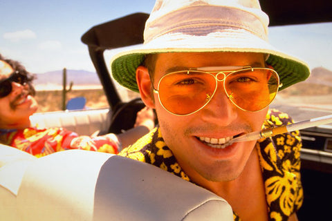 Johnny Depp in Fear & Loathing in Las Vegas
