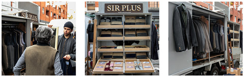 Sir Plus stall at Portobello