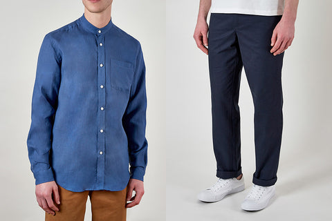 Grandad Shirt and Chino Trousers