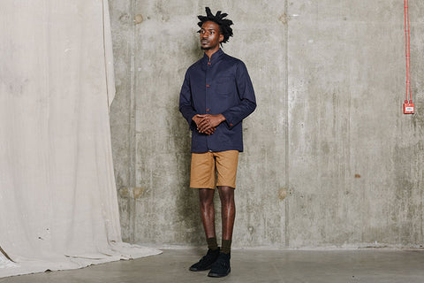 Men's Chino Shorts with Jacket