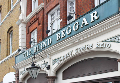 The Blind Beggar, traditional, old school British pub,