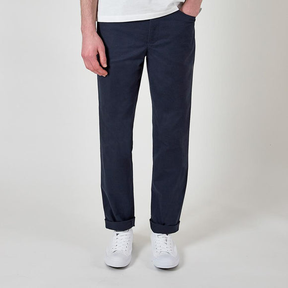 NAVY CASUAL CHINO TROUSERS - 100% Cotton, Trousers - Sir Plus