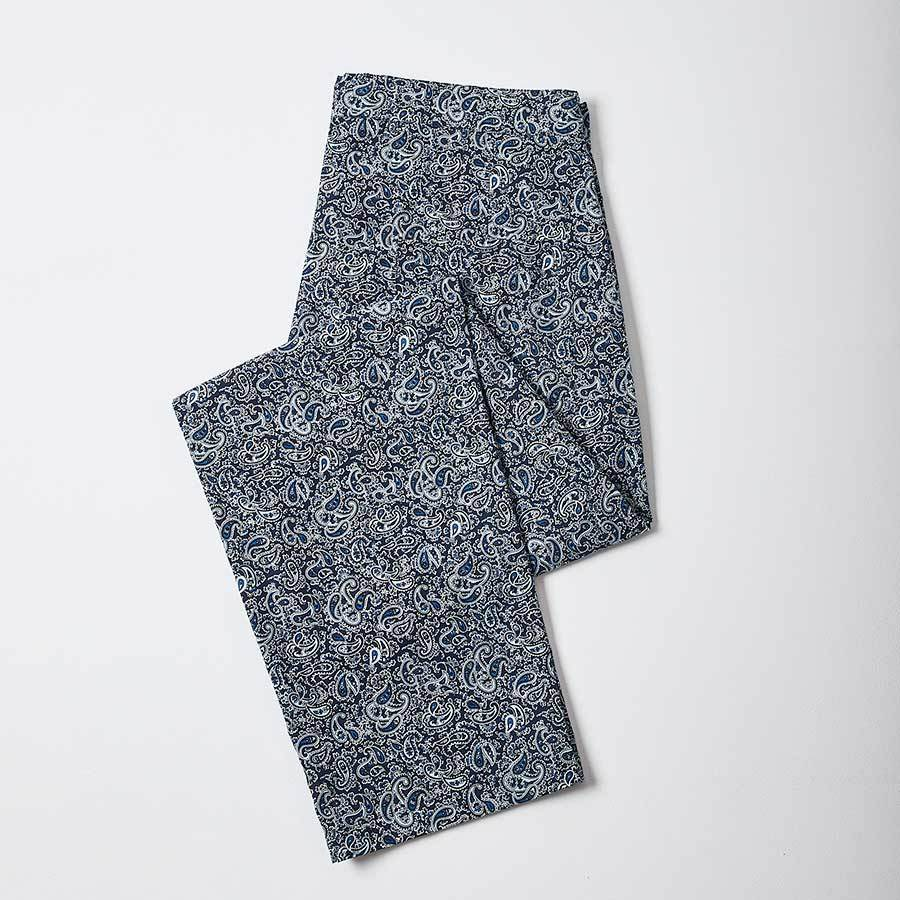 Blue Paisley Print PJ Trousers, Pyjamas - SIRPLUS