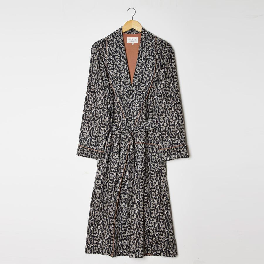 Liberty Tiger Print Dressing Gown, Dressing Gowns - SIRPLUS