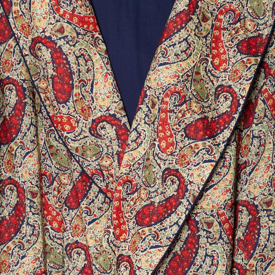 LIBERTY BOURTON PAISLEY DRESSING GOWN - 100% Cotton, Dressing Gowns - Sir Plus