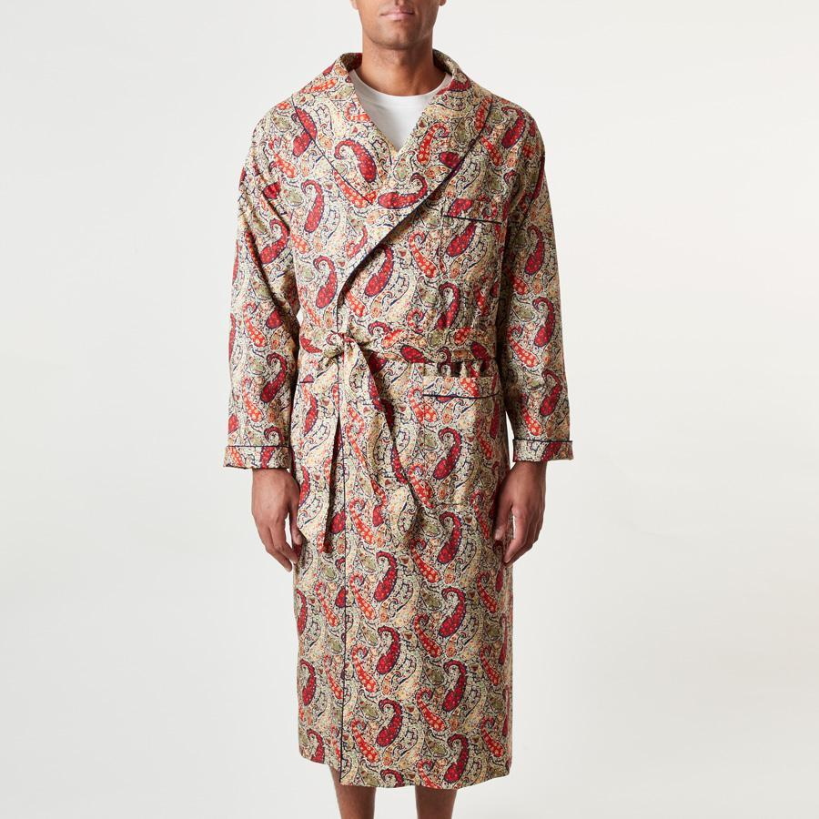 Liberty Bourton Paisley Dressing Gown