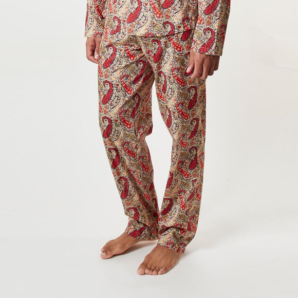 LIBERTY BOURTON PAISLEY PJ TROUSERS - 100% Cotton, Pyjamas - Sir Plus