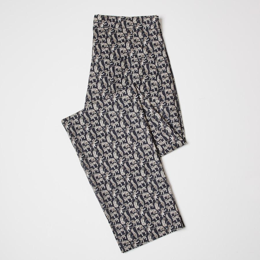 LIBERTY TIGER PRINT PJ TROUSERS - 100% Cotton, Pyjamas - Sir Plus