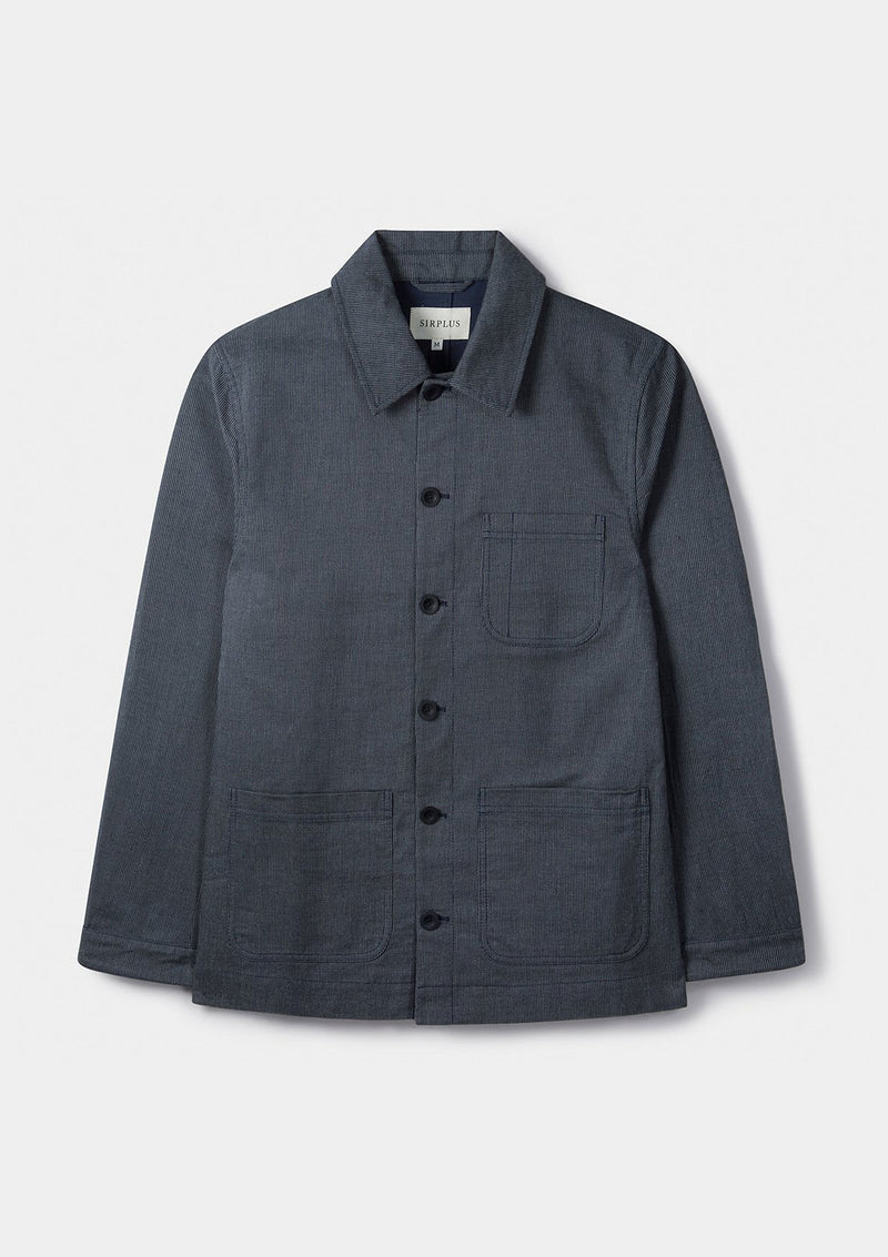 Blue Stripe Chore Jacket