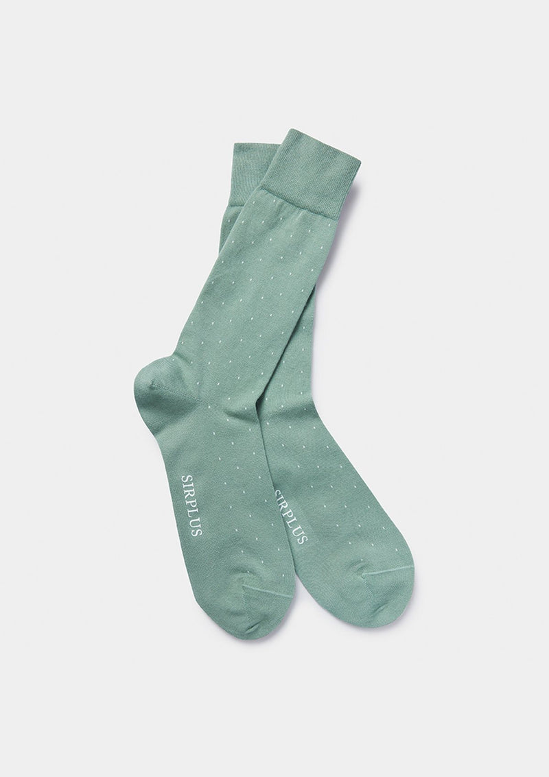 Green Dot Organic Cotton Socks