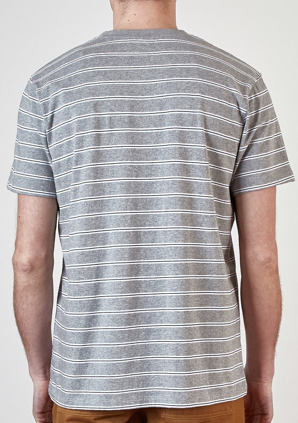 Grey Stripe T–Shirt - SIRPLUS