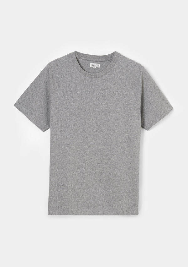 Grey Raglan T–Shirt - SIRPLUS