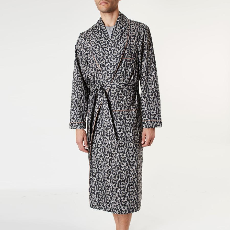 Liberty Tiger Print Dressing Gown