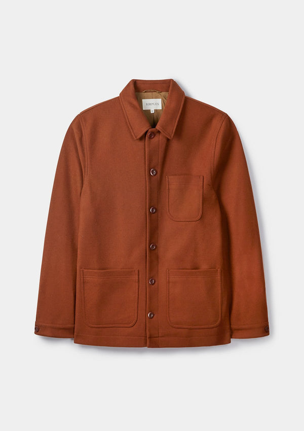 Nutmeg Wool Chore Jacket