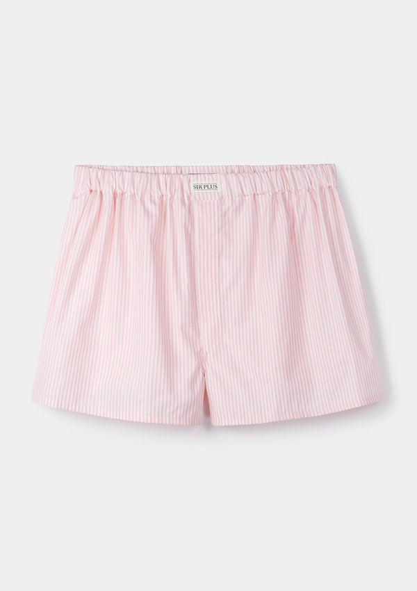 Pink Brighton Rock Stripe Boxer Shorts