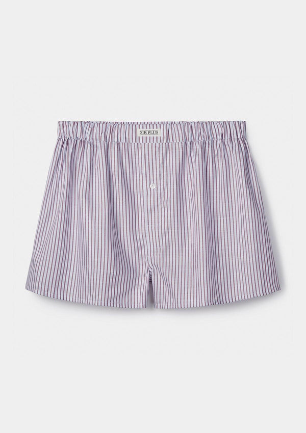 Red Cedar Stripe Boxer Shorts