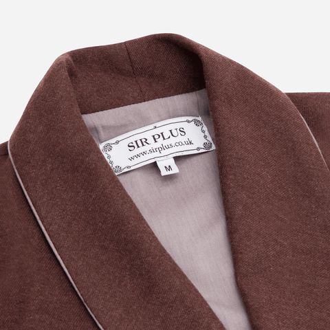 THE RUBENS AUBURN DRESSING GOWN - Cashmere & Linen Blend, Dressing Gowns - Sir Plus
