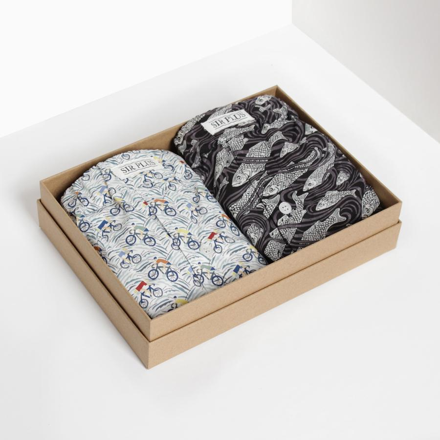 Boxers Gift Box - Made with Liberty Fabric