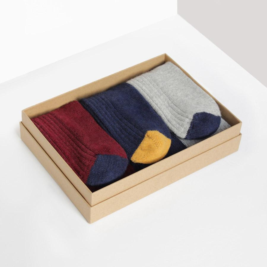 Wool Cashmere Socks Gift Box