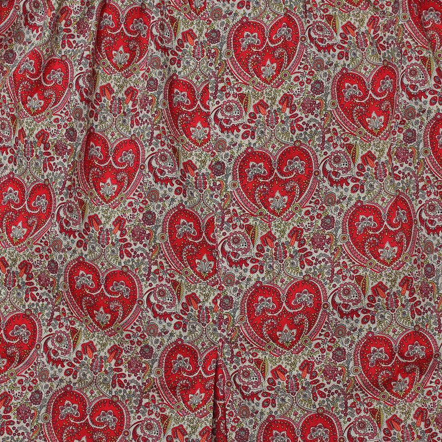 Liberty Paisley Heart Print Boxers, Boxers - SIRPLUS