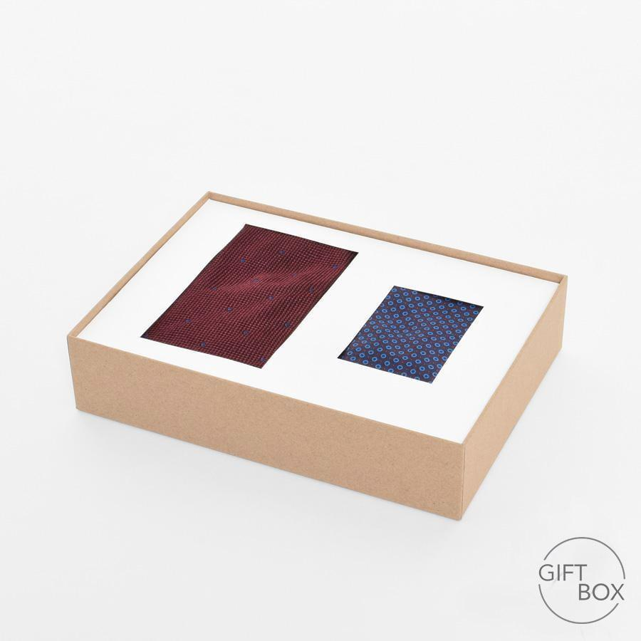 Pocket Square & Tie Gift Box