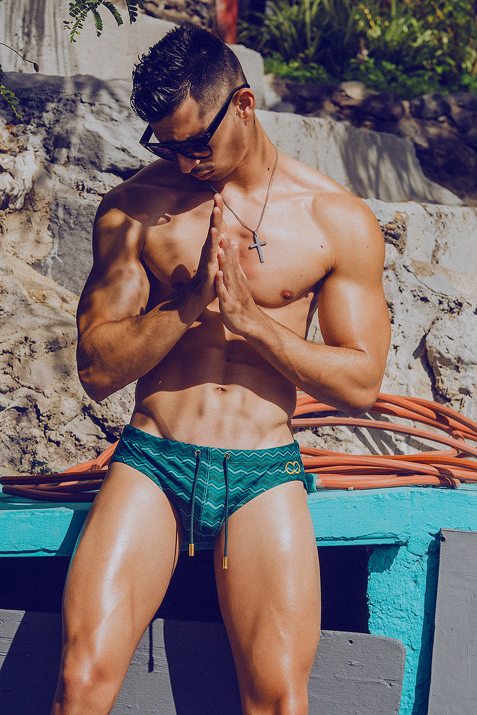 It's About The Man - Adrian C Martin - Model Mikel Roman Wears 2Eros Swimwear