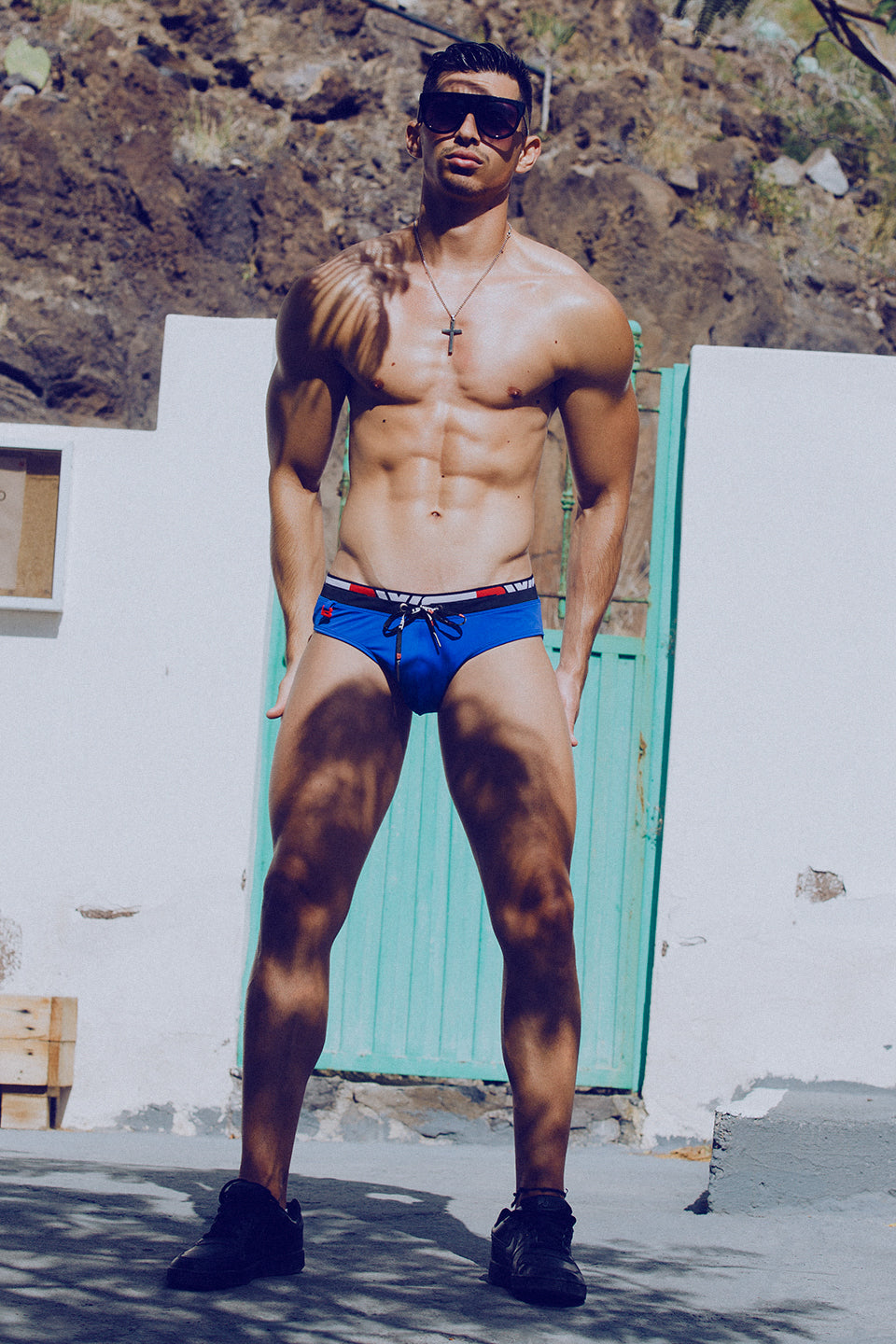 It's About The Man - Adrian C Martin - Model Mikel Roman Wears BWET Swimwear