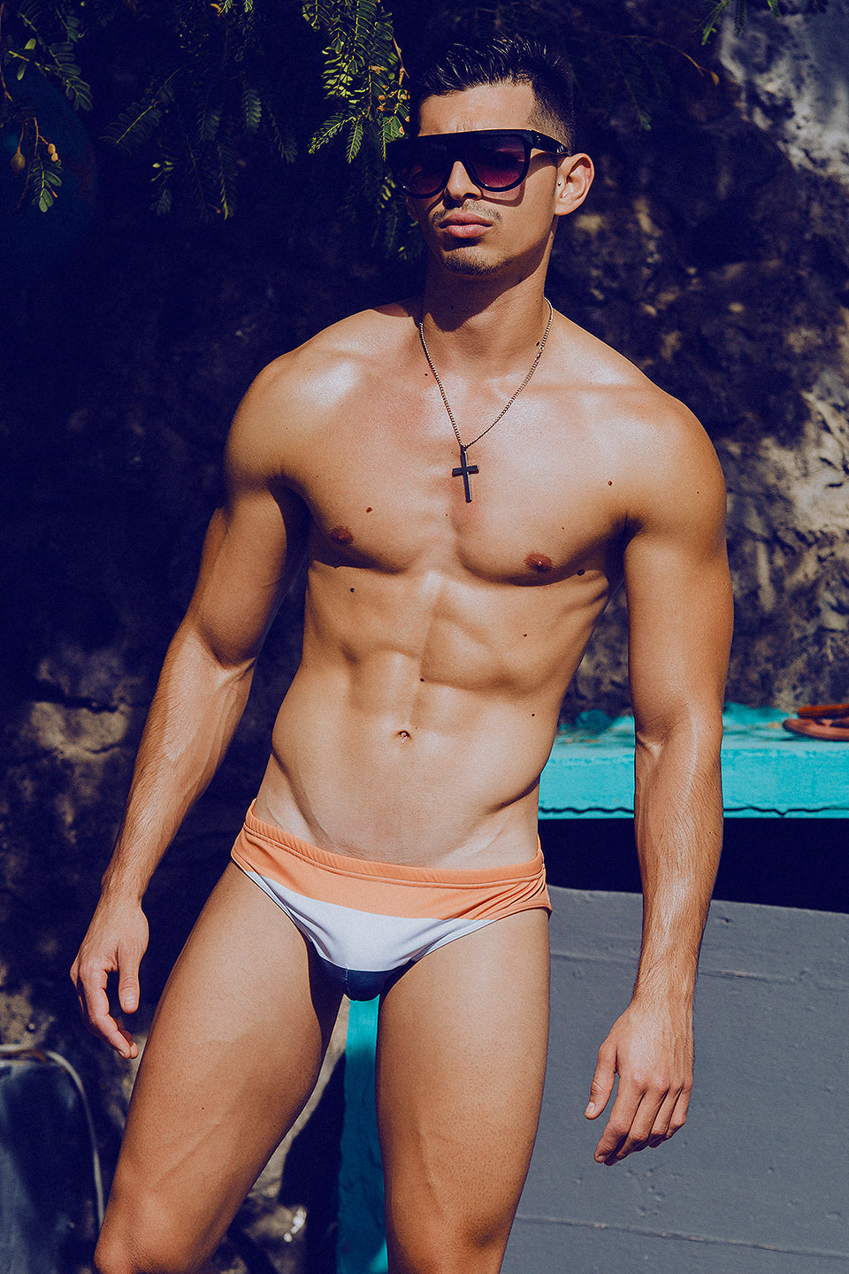 It's About The Man - Adrian C Martin - Model Mikel Roman Wears DESIDERIO Swimwear