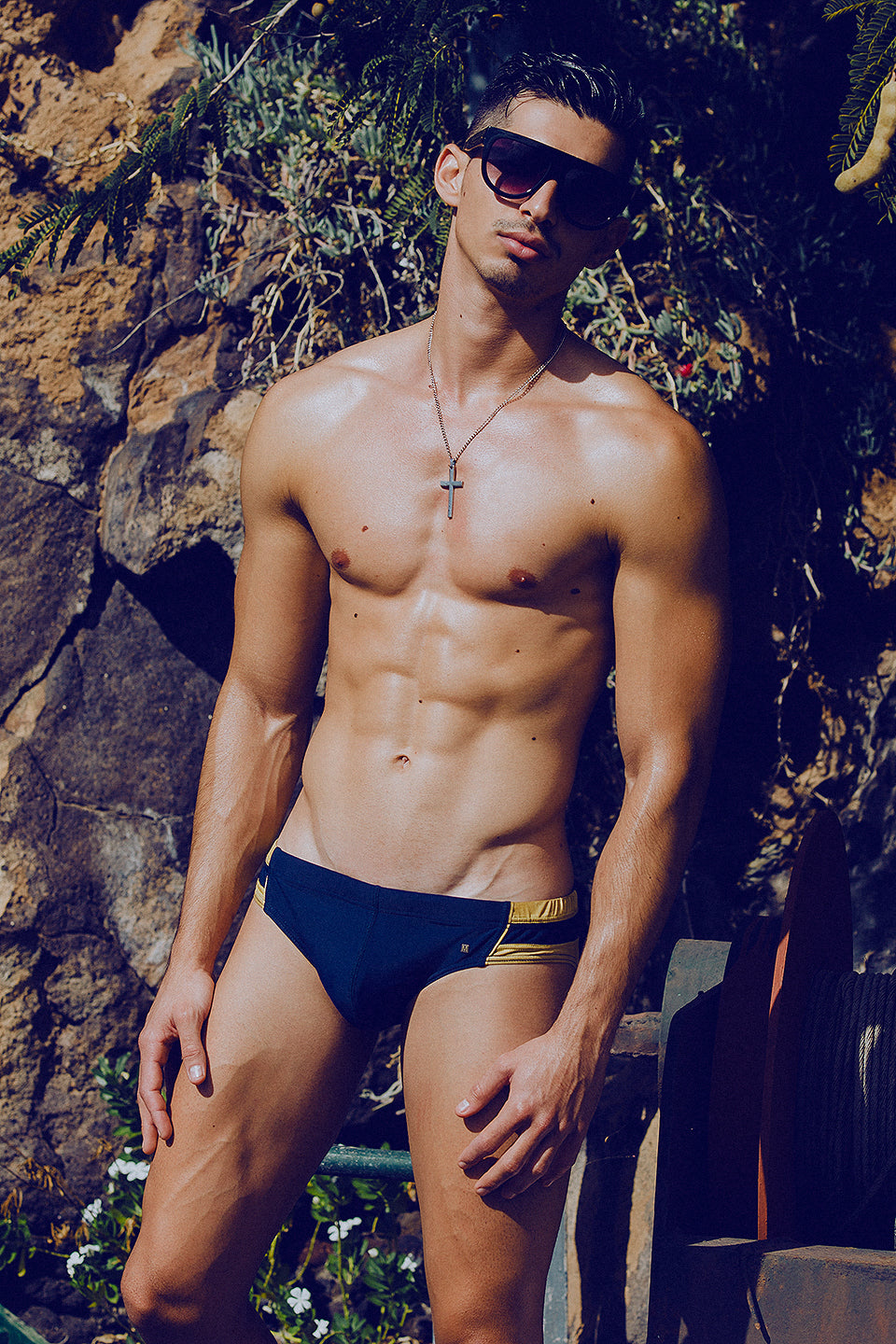 It's About The Man - Adrian C Martin - Model Mikel Roman - Wears MARCUSE Swimwear