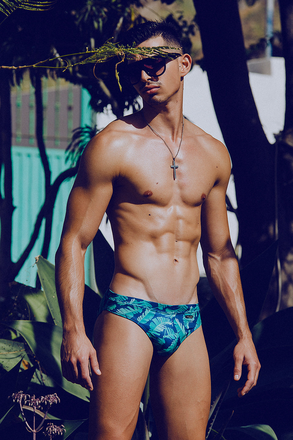It's About The Man - Adrian C Martin - Model Mikel Roman Wears OCEANICO Swimwear