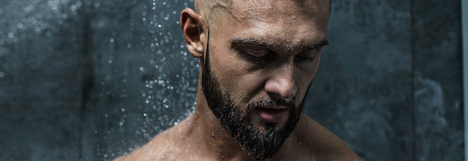 Man in Shower | It's About The Man | Man with Towel, Naked Hunk, Shirtless Hunk, Wet Towel