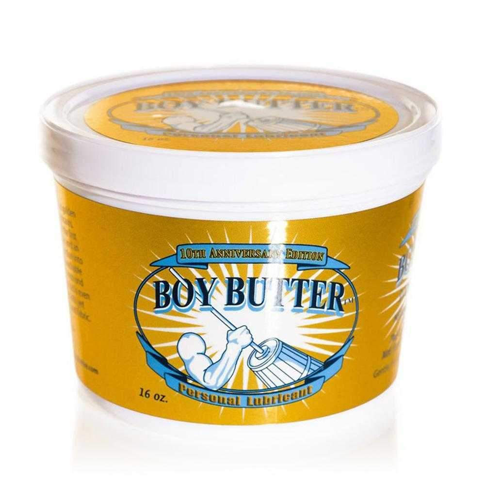 Boy Butter Original Gold Anniversary Edition Silicone Lubricant  Clear  473ml