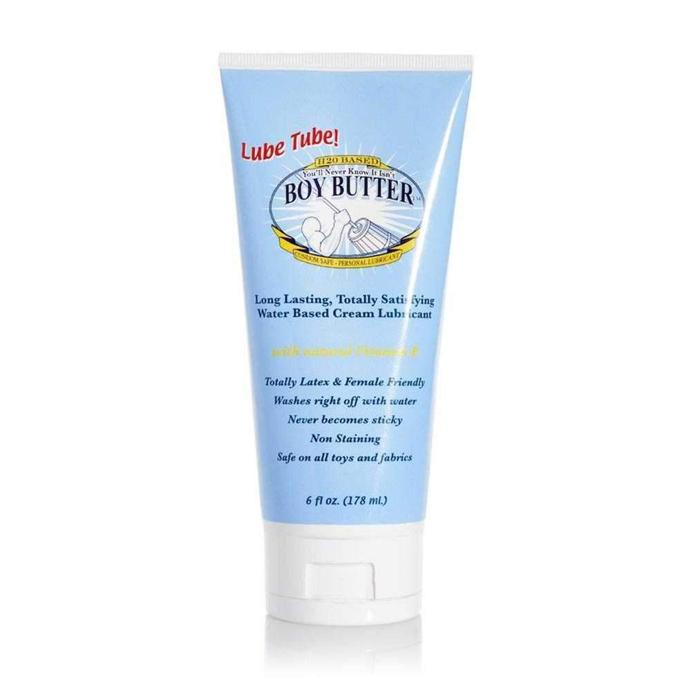 Boy Butter H2O Lube Tube Silicone Lubricant 177ml