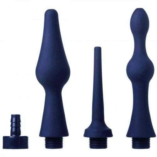 Clean Stream  Clean Stream Universal Anal Douche Cleansing Tips  Blue