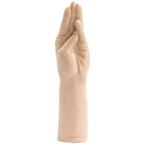 Doc Johnson  Belladonna's Magic Hand Realistic Dildo  Flesh  11.5""