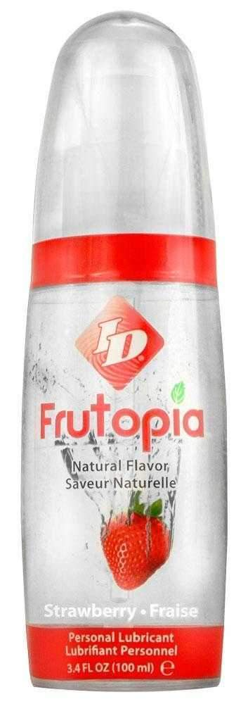 ID Frutopia Pump Strawberry FlavouWater Based Lubricant 100ml
