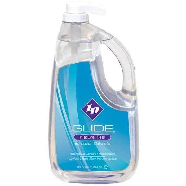Id Lube Glide Pump Water Based Lubricant  Clear  1900ml