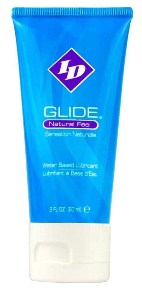 Id Lube Glide Travel Tube Water Based Lubricant  Clear