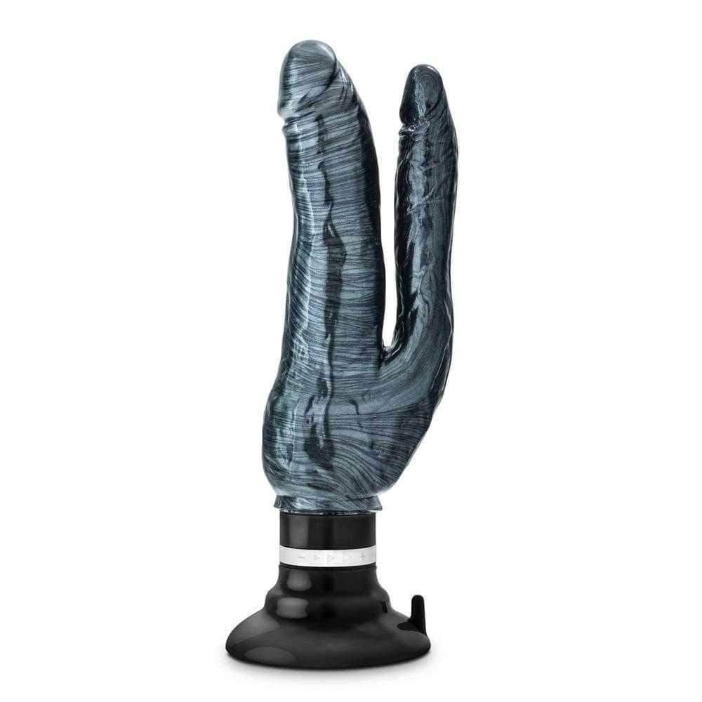 Jet Noir Carbon Metallic Black Double Vibrator 10""