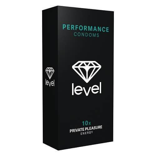 Level Performance Condoms 10 Pack