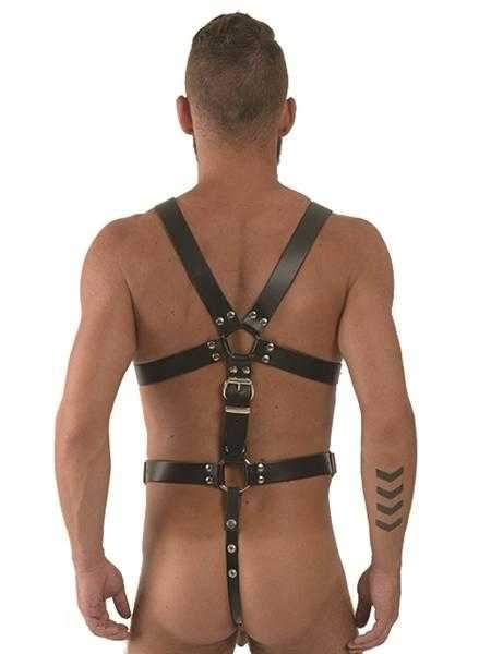 Mister B Leather Master Harness Thong