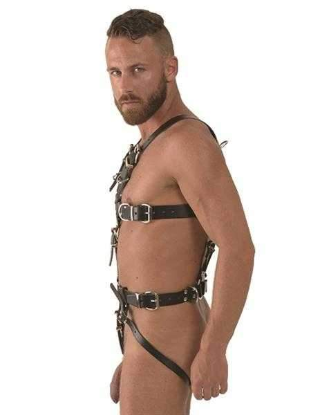 Mister B Leather Slave Harness