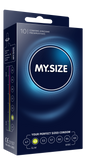 My Size 49 Condoms - Natural Latex Condoms 10 Pack