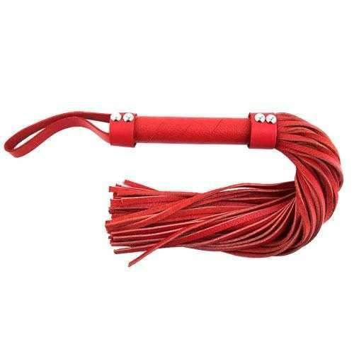 Rouge Garments  Rouge Garments Leather Flogger  Red  14""