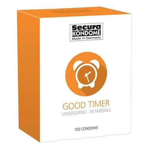 Secura Kondome Good Timer Delay Condoms Pack of 100