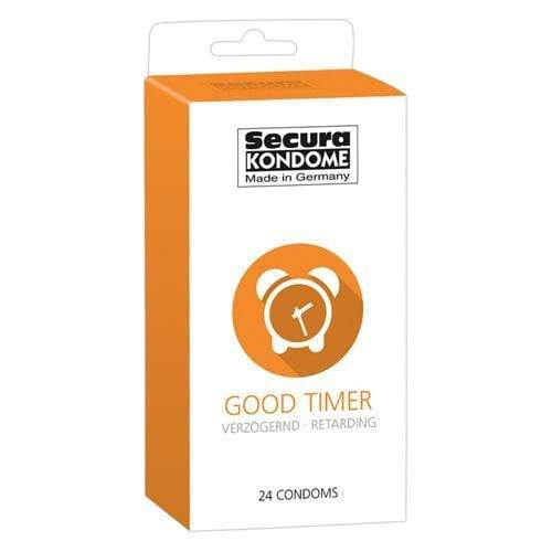 Secura Kondome Good Timer Delay Condoms Pack of 24