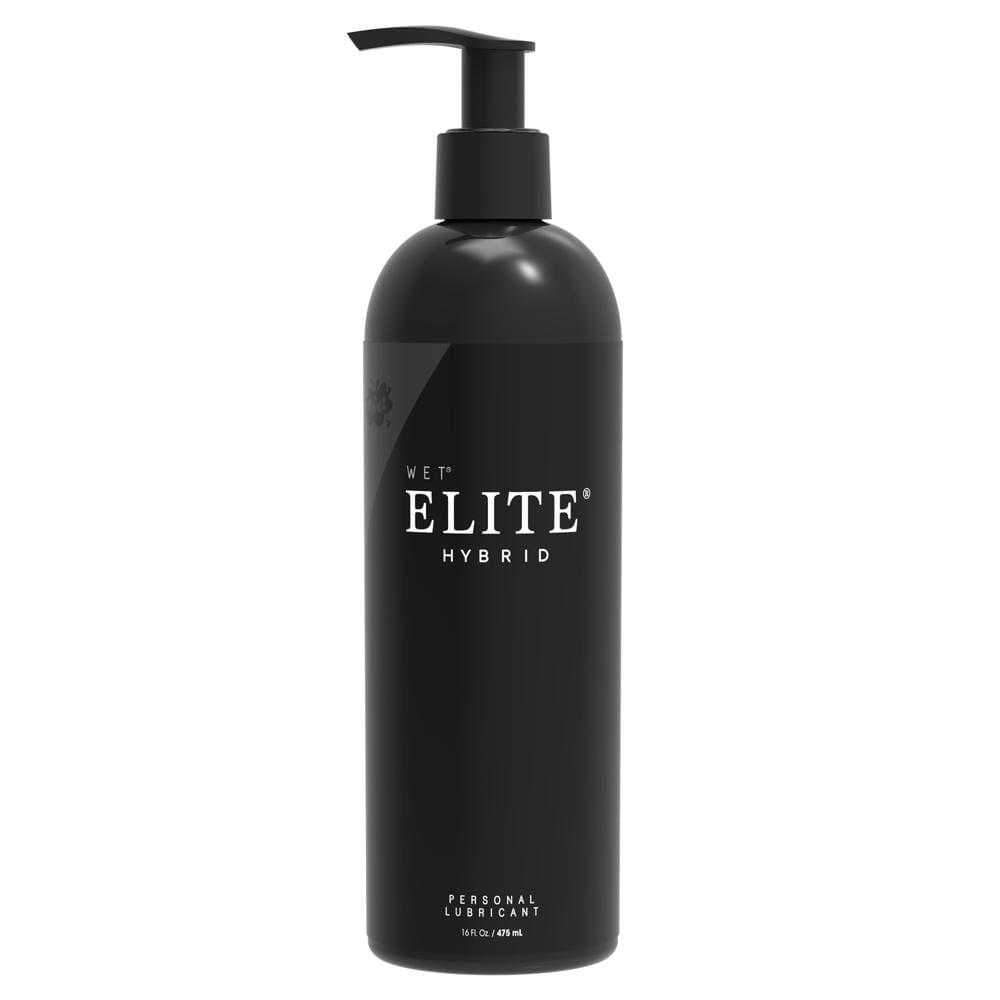 Wet  Wet Elite Hybrid Lubricant  Clear  475ml