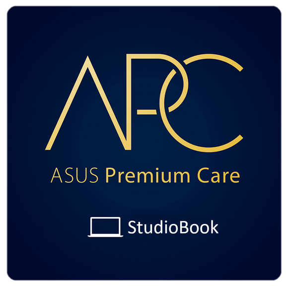 ASUS Premium Care Warranty for StudioBook - 3 Year with Accidental Damage Protection