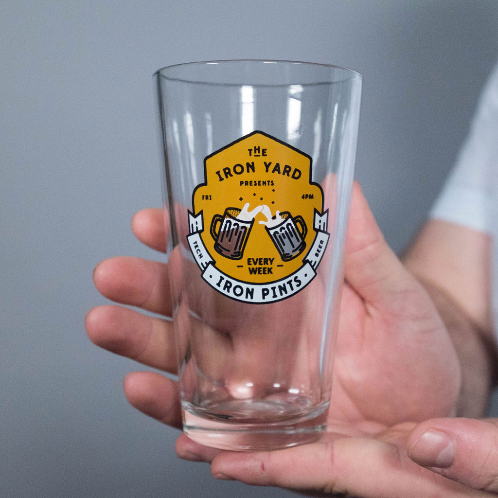 Rare IronPints™ glass